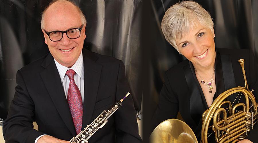 Robert Morgan, oboe and Gail Williams, horn | Northwestern